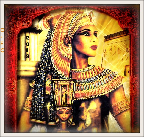 ISIS the Egyptian Goddess by Orange Feather Canary