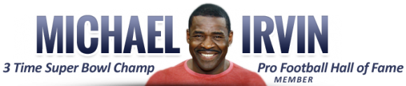 Michael Irvin on The Tony Sands Show