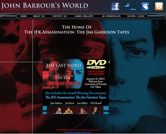 John Barbour's World website picture