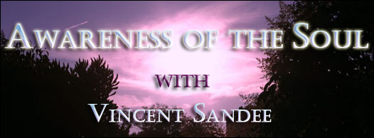 Awareness of the Soul with Vincent Sandee, banner