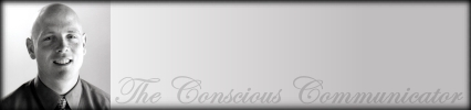 The Conscious Communicator with Rusty May, banner