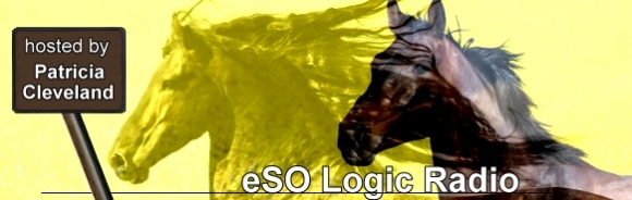 eSO Logic Radio with Patricia Cleveland, banner