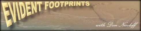 Evident Footprints with Don Nicoloff, banner