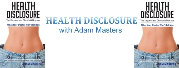 Health Disclosure with Adam Masters, banner