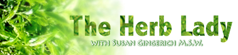 The Herb Lady with Dr. Susan Gingerich, banner
