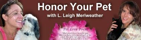 Honor Your Pet with Leigh Meriweather, banner