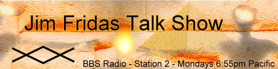 Jim Fridas Talk Show with Jim Fridas, banner
