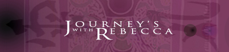 Journeys with Rebecca with Rebecca Jernigan, banner