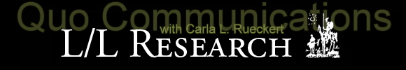 LL Research Q'uo Communications with Carla L. Rueckert, banner