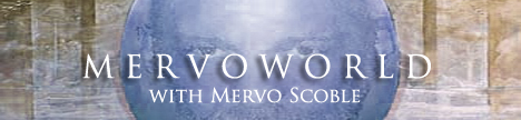 mervoWORLD with Mervo Scoble, banner