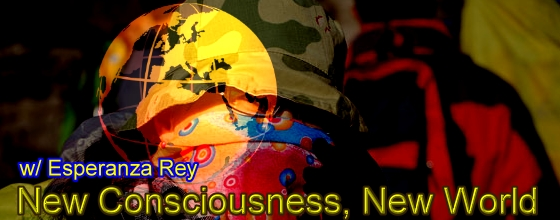 New Consciousness New World with Esperanza Rey, banner