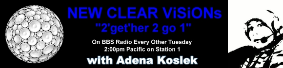 New Clear Visions with Adena Koslek, banner