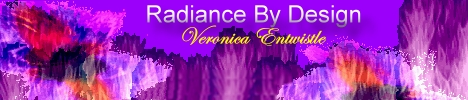 Radiance By Design with Veronica Entwistle, banner