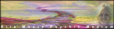 Rita Moore Psychic Medium with Rita Moore, banner