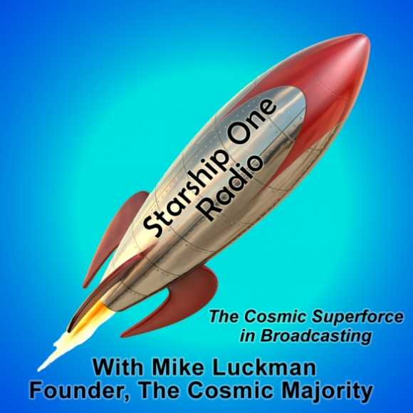 Starship One Radio with Mike Luckman, banner