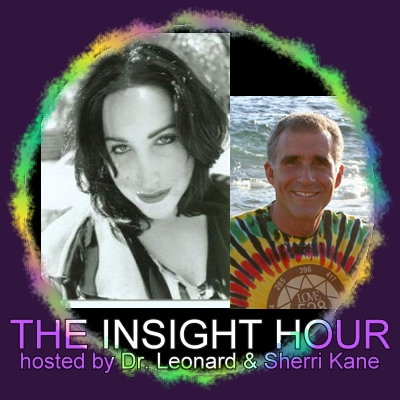 The Insight Hour with Dr. Leonard Horowitz and Sherri Kane, banner