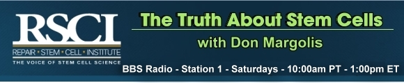 The Truth About Stem Cells with Don Margolis, banner