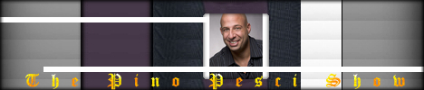 The Pino Pesci Show with Michael Anthony Oliva, banner