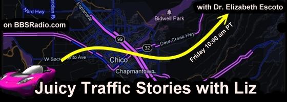 Juicy Traffic Stories with Liz with Dr. Elizabeth Escoto