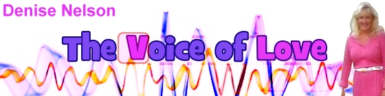 The Voice of Love with Denise Nelson and Anne Didomenico, banner