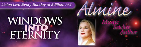 Windows Into Eternity with Almine, banner