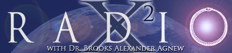 X-Squared Radio with Dr. Brooks Alexander Agnew, banner