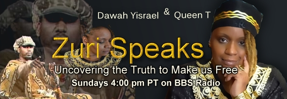 Zuri Speaks with Dawah Yisrael and Queen T, banner