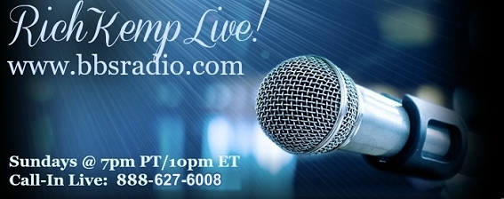 Rich Kemp Live with Reverend Rich L. Kemp