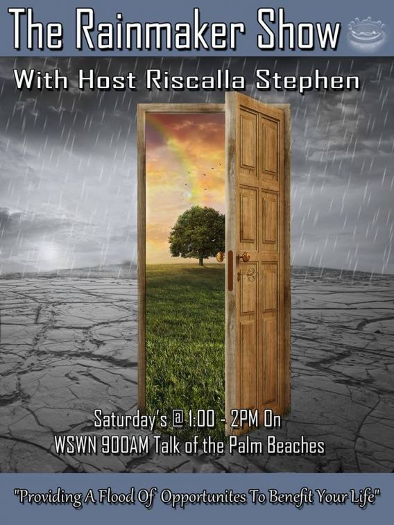 The Rain Maker: Pouring Opportunities with Riscalla Stephen