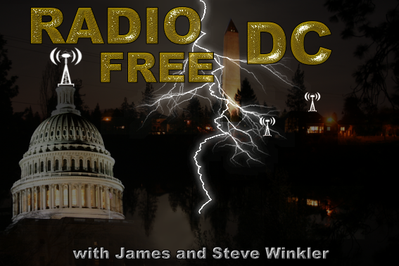 Radio Free DC with James and Steve Winkler