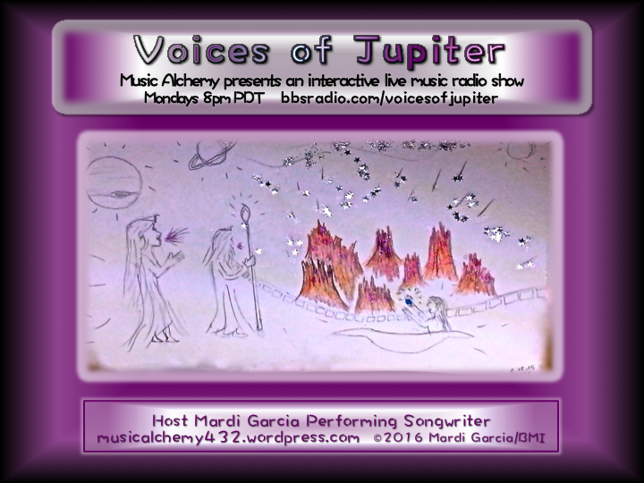 Voices of Jupiter Interactive Live Music Radio Show