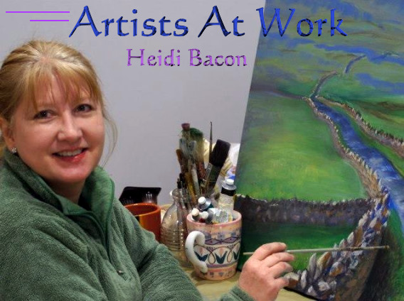 Artists at Work with Heidi Bacon