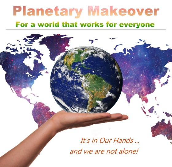 Planetary Makeover Show with Dick Larson