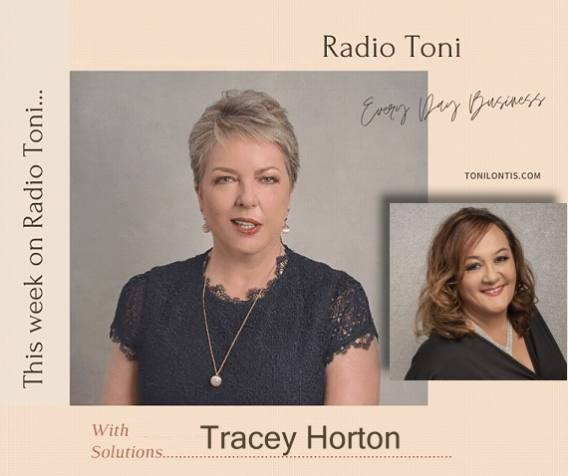 Radio Toni Everyday Business tackling Trauma with Tracey Horton and Toni Lontis