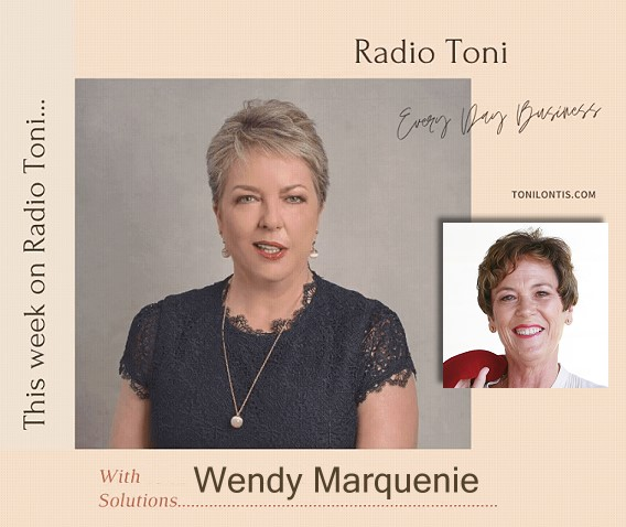 Radio Toni Every Day Business with Wendy Marquenie and Inner Genius Global