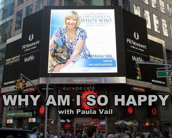 Why Am I So Happy with Paula Vail