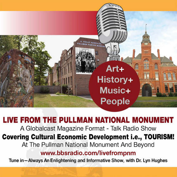 Live From Pullman National Monument, a tourist and tourism hotspot, with Dr Lyn Hughes