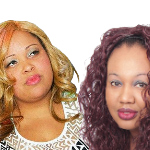 RnB singer Nikia and Hip Hop artist Dee
