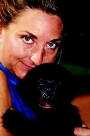 Sally Jewel Coxe, co-founder of Bonobo Conservation Initiative