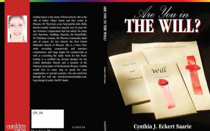 """Are You in the Will?"" , by Cynthia J Eckert Saarie"