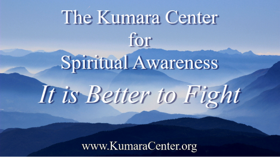 It is Better to Fight - Shusara Akona Kumara