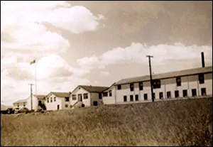 The Nanaimo Indian Hospital, 1948