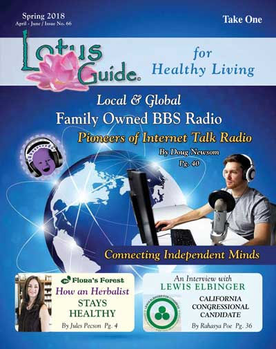 BBS Radio on the front cover of the LOTUS GUIDE!
