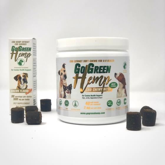 CBD Green foods supplement