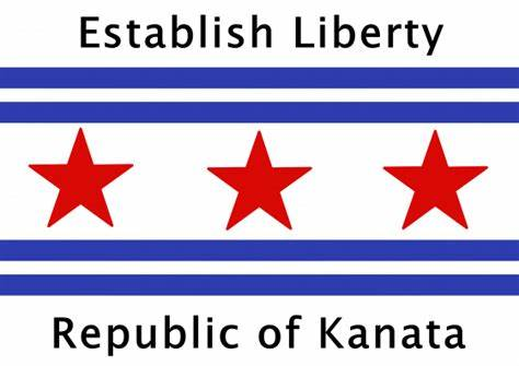 Establish Liberty. Republic of Kanata