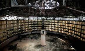 The ruins of a Benthamite Panopticon prison built in Cuba in the 19th century