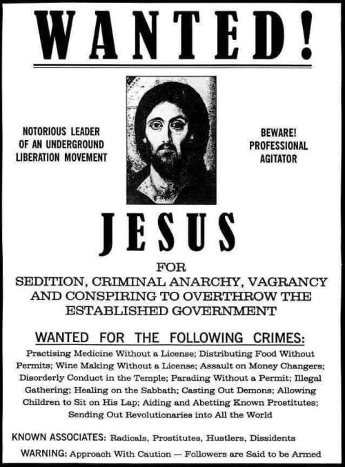 Wanted! Jesus
