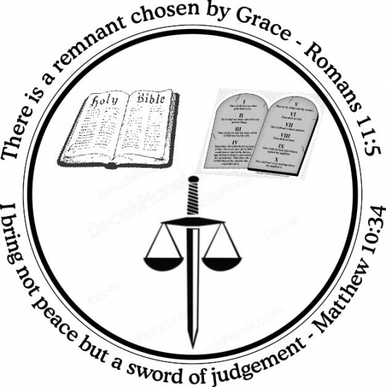 There is a remnant chose by Grace - Romans 11:5 \ I bring not peace but a sword of judgement - Matthew 10:34