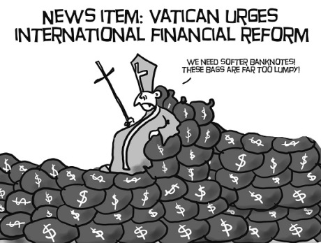 Vatican urges international financial reform