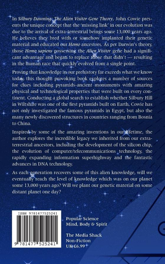 The book 'Silbury Dawning: The Alien Visitor Gene Theory'
